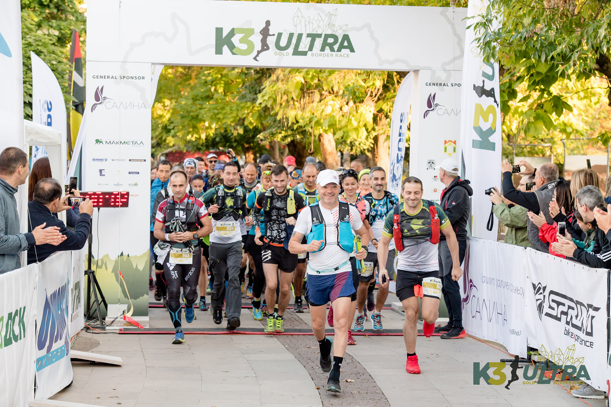More than 500 runners from 13 countries registered for K3 ULTRA