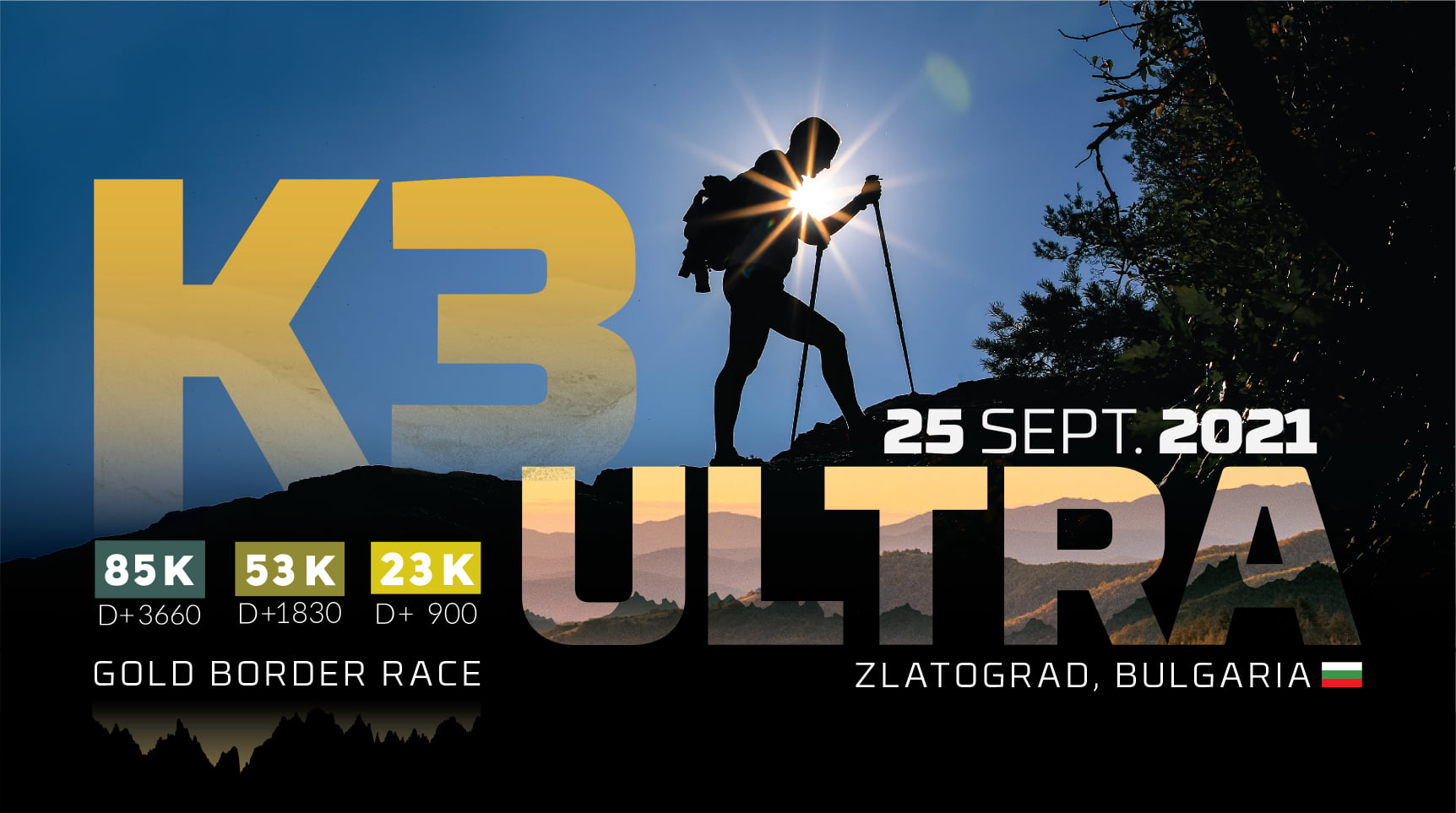 The third edition of K3 Utra will take place on 25.09.2021